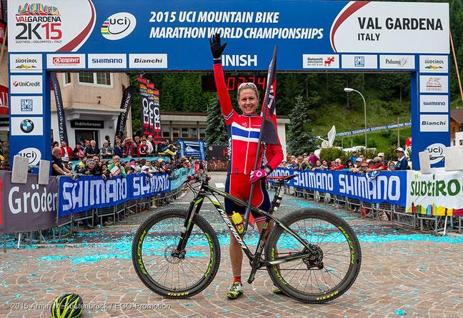 Zehnfache Weltmeisterin: Gunn-Rita Dahle-Flesjaa schreibt Mountainbike-Geschichte ©Armin M. Küstenbrück/EGO-Promotion