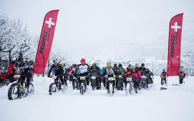 Etappenstart beim Snow Epic ©Sportzpics/Nick Muzic