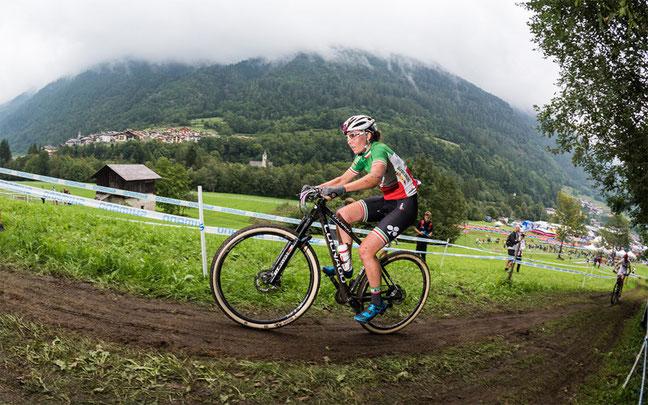 """Dunkle Wolken im """"Tal der Sonne"""" und trotzdem hoffnungsvoll: Eva Lechner fährt zum Saisonabschluss noch einmal unter die Top-Ten © EGO-Promotion"""