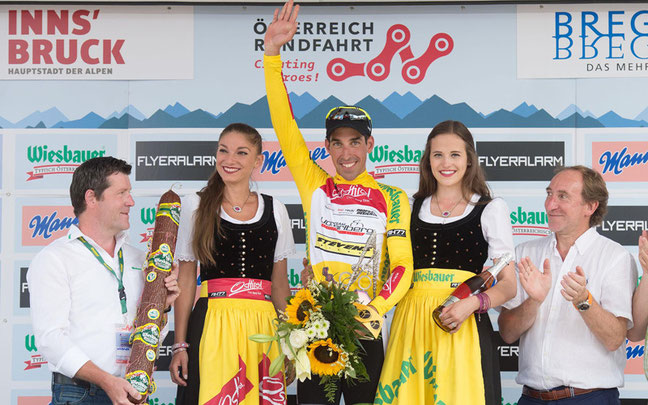 Victor de la Parte gewann vor wenigen Tagen die Österreich-Rundfahrt und startet beim 24h-Rennen im 4er-Team © Pressebild