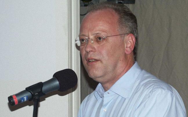BDR-Präsident Rudolf Scharping © kg