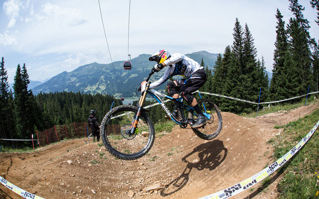 Nick Beer wurde Zweiter und übernahmn die Spitze in den iXS-Standings © extreme-pics.de / Thomas Dietze