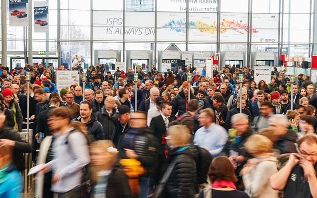 Andrang auf die ISPO Munich © Messe München International
