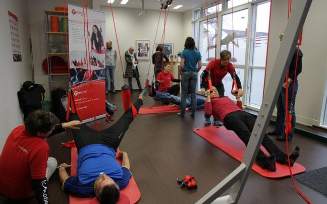 """Tag der offenen Tür der ToMotion GmbH und der Physiotherapiepraxis """"Physio & Spirit"""" ©ToMotion"""