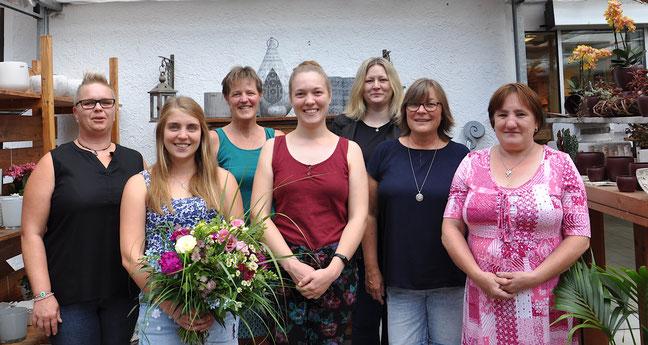 Das Team vom Blumen Grünschnabel in Trossingen
