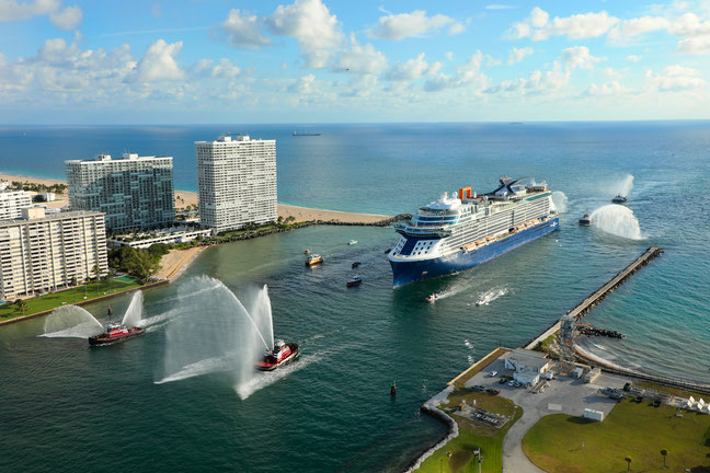 Celebrity Edge in Fort Lauderdale