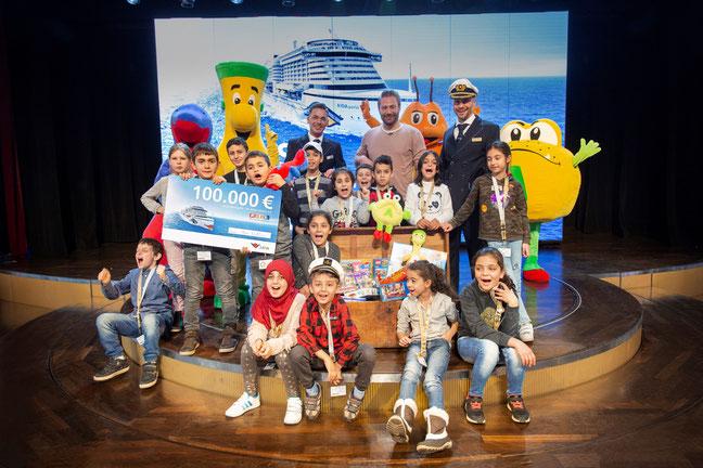 AIDA Cruises unterstützt den RTL Spendenmarathon