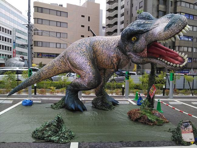 ★全長7m「ティラノサウルス」