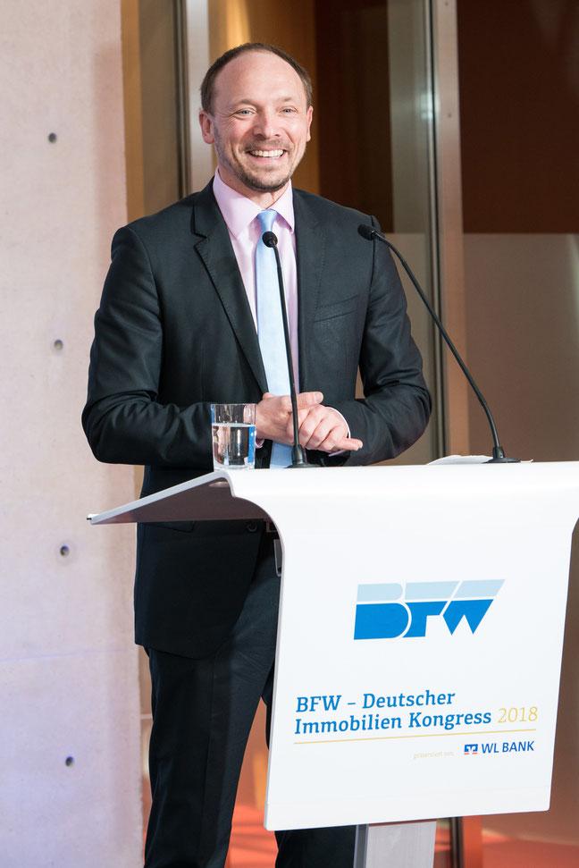 bfw, deutscher immobilien kongress 2018