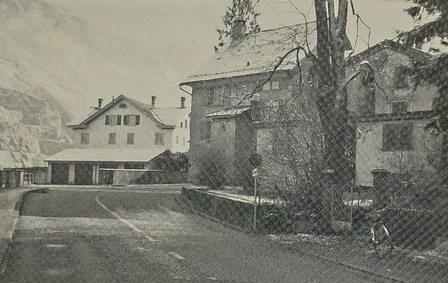 Die beiden Häuser im Ennetbruck fielen im März 1969 als erste der Spitzhacke zum Opfer. (Foto: Jakob Kubli)