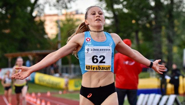 Julia mayer staatsmeisterin 11-fach dsg wien laufen 5000 meter asics heeressport Bundesheer ölv