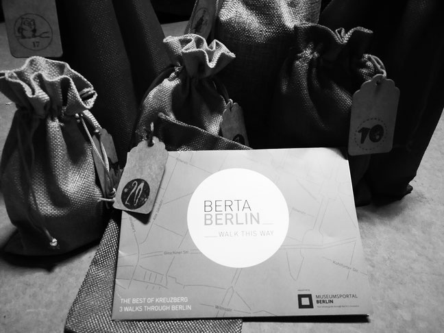 Advent calendar for Berlin + BertaBerlin map