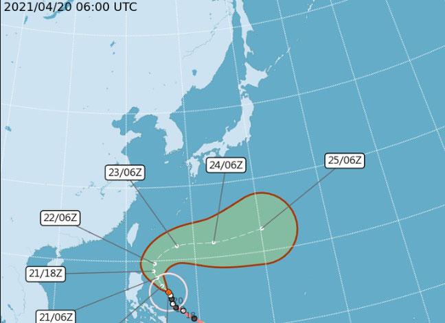 台湾天気図