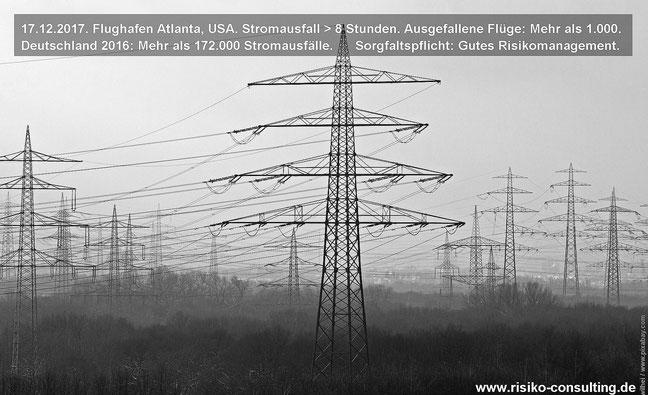 Stromausfall - Risikomanagement - Sorgfaltspflicht