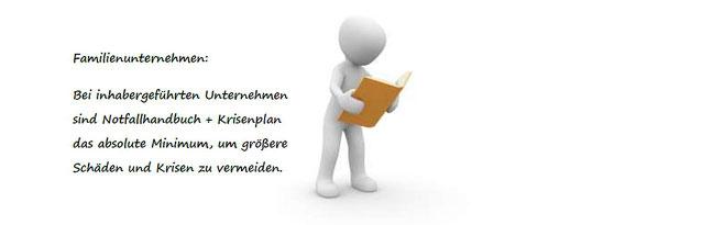 Familienunternehmen: Das Notfallhandbuch ist Pflicht