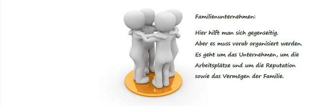 Familienunternehmen: Hilfe untereinander