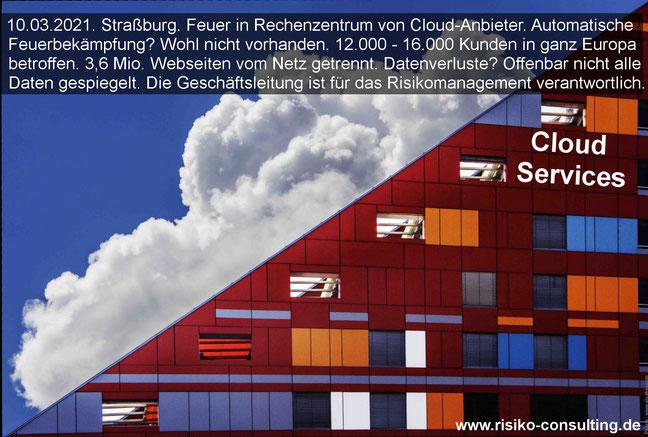 Cloud Services. Verträge mit Dienstleistern. Eine Aufgabe für das Risikomanagement.