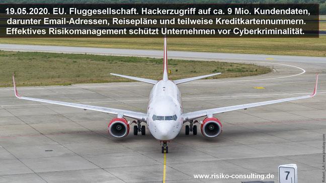 Cyberattacke gegen Fluggesellschaft - Kreditkartennummern erbeutet