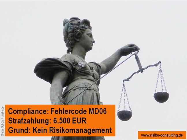 Risiko-Consulting - Risikomanagement vermeidet Strafzahlungen für den Mittelstand