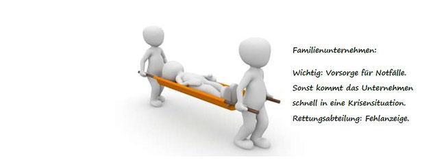 Familienunternehmen: Rettungsabteilung Fehlanzeige