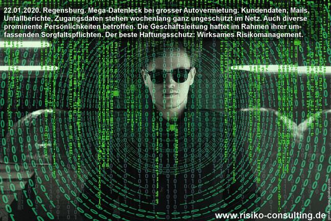 Geschäftsleitung haftet für ungeschützte Daten