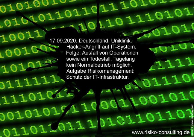 Hackerangriff auf Uniklinik