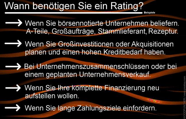 Risiko-Consulting: Das eigene Rating als Teil der Finanzkommunikation - auch für Familienunternehmen
