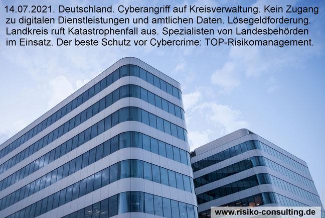 Effektives Risikomanagement schützt Firmen und Behörden vor Cyberangriffen.