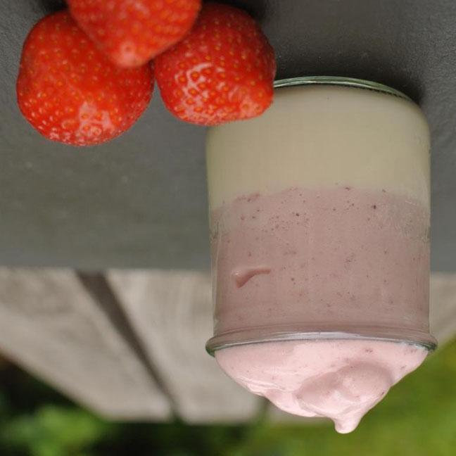Fruchtige Dalgona Alternative - nicht nur für Kinder ;)
