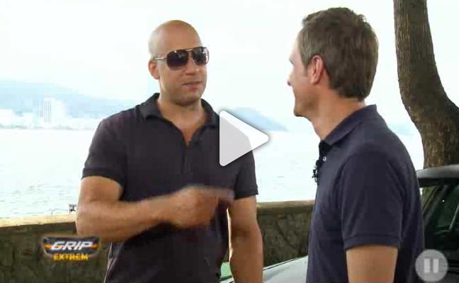 """GRIP EXTREM: Matthias Malmedie blickt hinter die Kulissen von """"Fast and Furious"""" und spricht mit Hauptdarsteller Vin Diesel alias Dominic """"Dom"""" Toretto."""