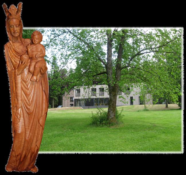 Les soeurs Salésiennes de Don Bosco Farnières vous accueillent dans un écrin de verdure des Ardennes belges