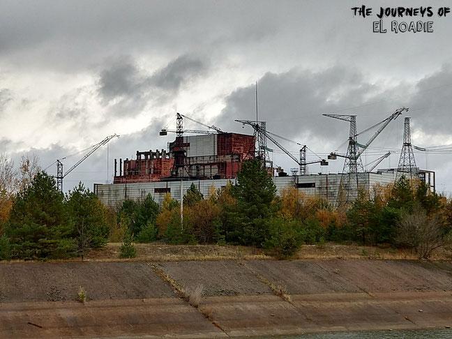 Reaktor 5 & 6, die Bauarbeiten wurden nach der Katastrophe gestoppt