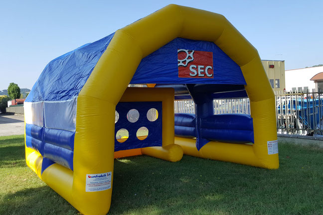 Inflatable Game In Goal