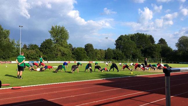 Trainingsauftakt TSV Heiligenrode 2018/2019