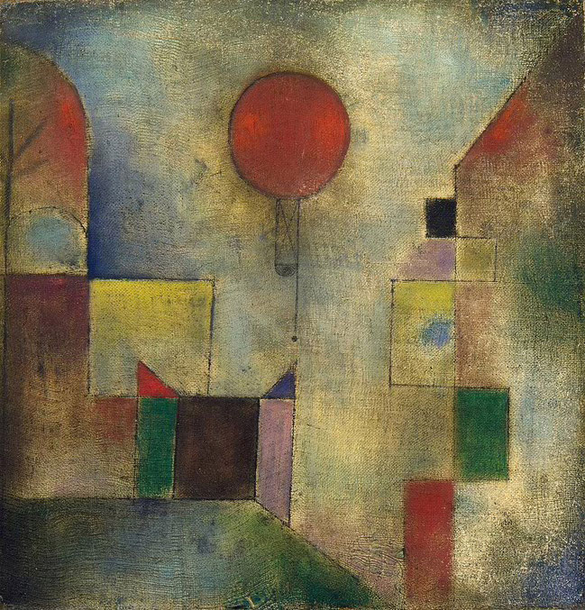 The Red Balloon, Paul Klee, 1922