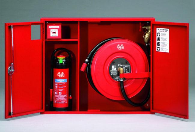 GGS Brandschutz - Wandhydranten mit formstabilem Schlauch