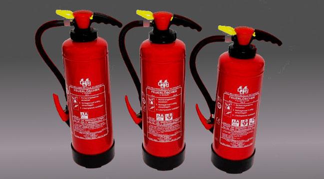 GGS Brandschutz - Feuerlöscher