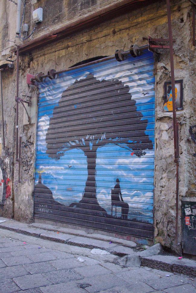 fluegelwesen.de - Geheimtipp für Palermo, Sizilien: Streetart an jeder Ecke