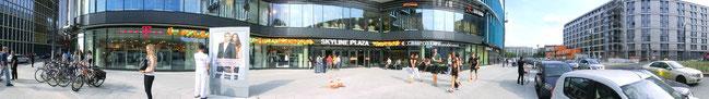 Eingang Skyline Plaza - Den Haager Str. / Europa Allee
