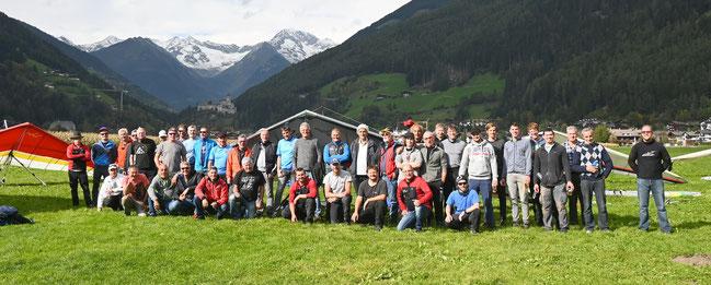 """Das war das """"AUSGLEITEN"""" Abschlussfliegen vom Falkenclub Ahrntal in Sand in Taufers Oktober 2020"""