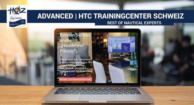 ADVANCED | HOZ Hochseezentrum International | HTC Trainingcenter Schweiz | Hochseeschein Kurse | www.hoz.swiss