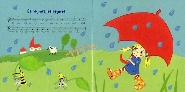 Es regnet, es regnet