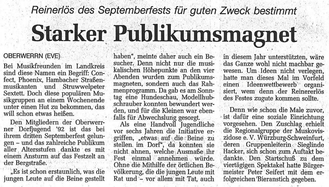 16.09.1997 Schweinfurter Tagblatt