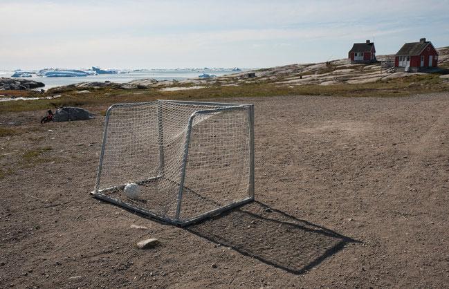 Grönland, Oqaatsut, Rodebay, Fussball