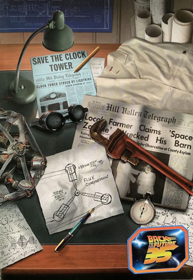 Doc Brown Ultimate Zurück in die Zukunft Actionfigur 18cm Neca