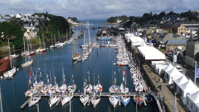 Port Rhu, harbour of Douarnenez