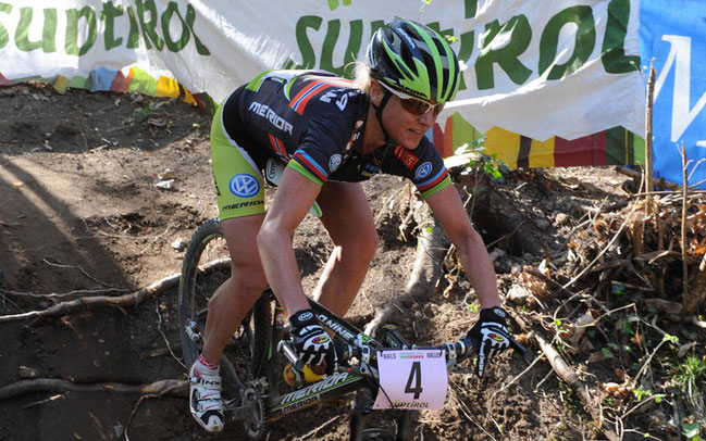 Gunn-Rita Dahle-Flesja ist Dauergast beim Rennen in Nals © Pressefoto