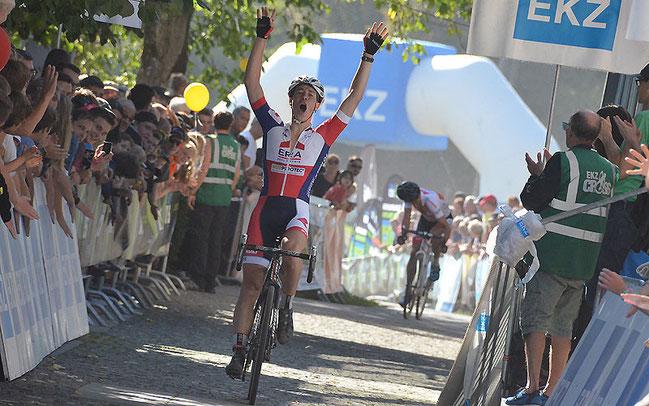 Laurens Sweeck siegte in Baden © Elisa Haumesser