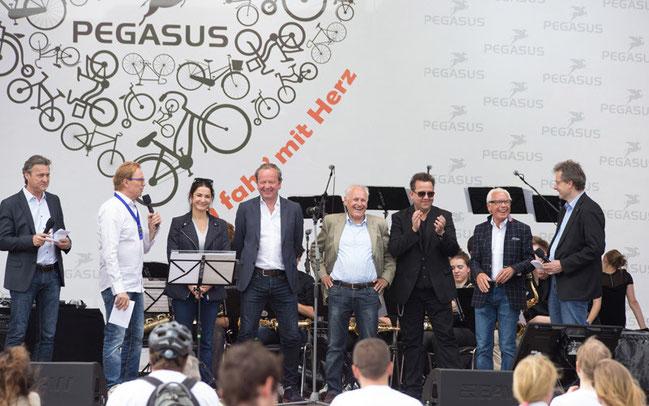 Initiator der Aktion war der Pegasus Qualitätsrat © PEGASUS/Kai Bublitz