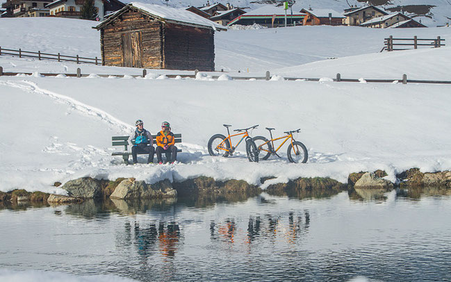 Fatbiking in Livigno © G. Meneghello